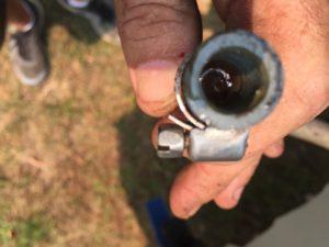 Mercury fuel hose